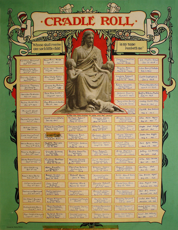 THE CRADLE ROLL AND ITS EPHEMERA (5/6)