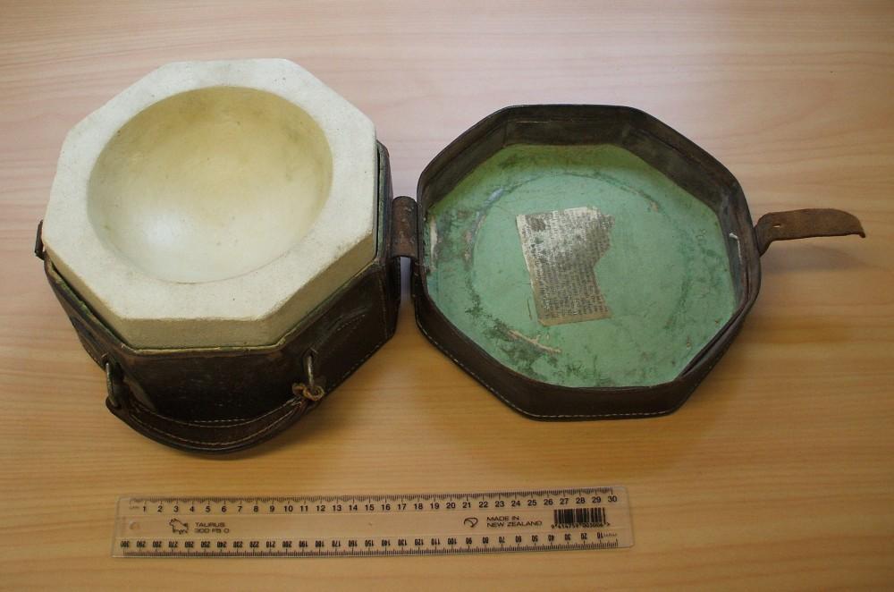 A NEW ARTEFACT - OAMARU STONE BAPTISMAL FONT (3/3)