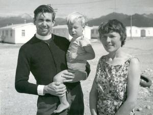 The Rev. and Mrs Owen Kitchingman Chaplain, Manapouri Power Project, 1965