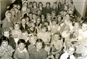 A new Sunday School in a new Suburb early 1950s