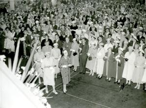 Women Elders serving Communion at People's Night, General Assembly c.1960